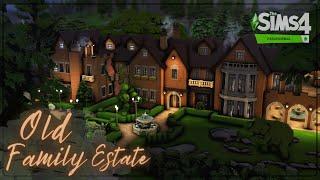 Старое родовое поместье🔮│Строительство│Old Family Estate│SpeedBuild│NO CC [The Sims 4 Paranormal]