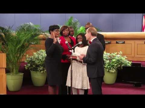 Miami-Dade County Commission Installation Ceremony