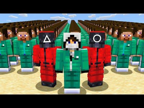🐙 Я Решил Выиграть Игру в Кальмара против 100 игроков в Майнкрафт - Видео онлайн