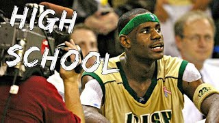 NBA PLAYERS When They Were IN HIGH SCHOOL