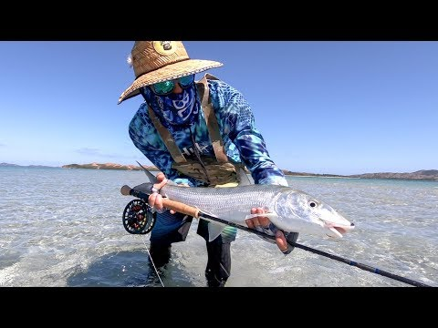 Bonefish On The Fly With The MaxCatch Sprint Fly Reel !
