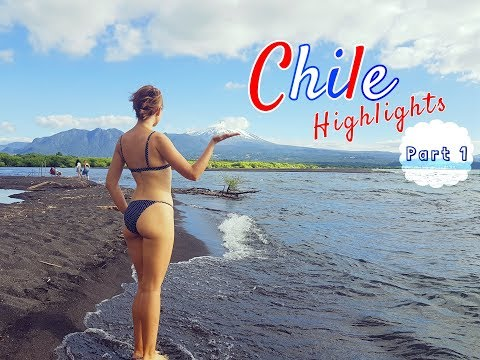 Chile 2018 Highlights | Part 1 | Santiago, Valparaiso and Pucon