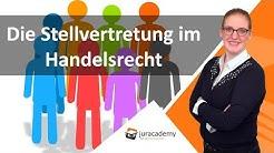 Die Stellvertretung im Handelsrecht ► juracademy.de