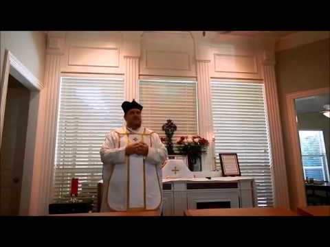 Father Pfeiffer, Our Lady of Mount Carmel, Thursday July 16th 2015, Dallas TX
