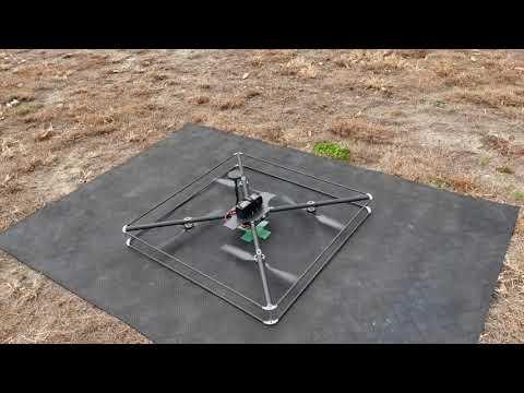 RTK-GNSSを用いた、ドローンのピンポイント着陸装置