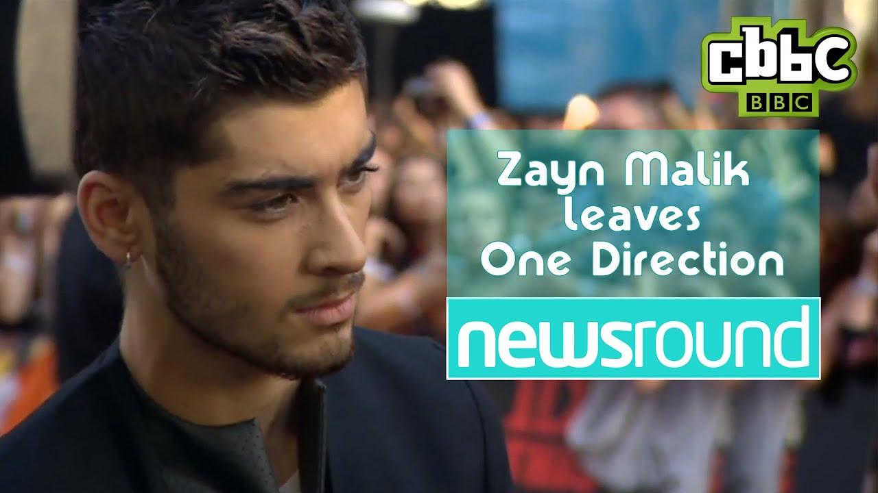 Zayn Malik leaves One Direction - Fan Reactions - CBBC Newsround - YouTube