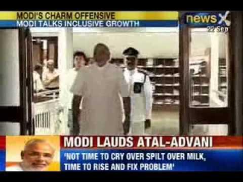 Narendra Modi for Prime Minister: Without US Visa, addresses NRI's through video conference