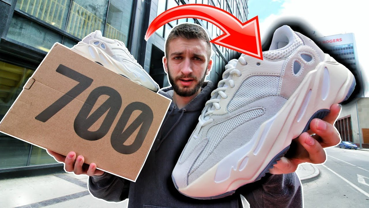 the best attitude 9c475 0cbc3 NO ONE BOUGHT THESE YEEZYS! ADIDAS YEEZY 700 ANALOG RELEASE PICKUP FAIL!