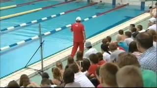видео: Мастер-класс по плаванию (Волгоград, май 2013)