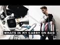 What's in my Carry-on Bag ✈️️ Balenciaga Bazar Tote Review | Imdrewscott