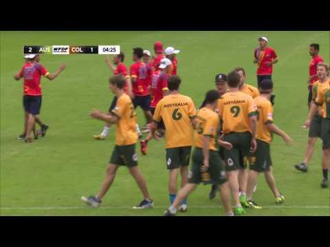 WUGC 2016 - Australia vs Colombia Men's