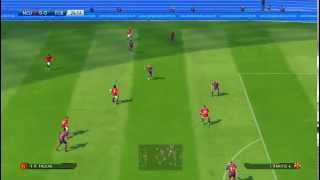 PES 2015 PC Gameplay Manchester United vs Barcelona (Max Settings, GT 740M) HD