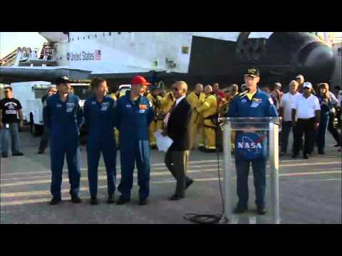 STS-135 Landing: Runway Remarks