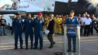 STS-135 Landing: Runway Remarks
