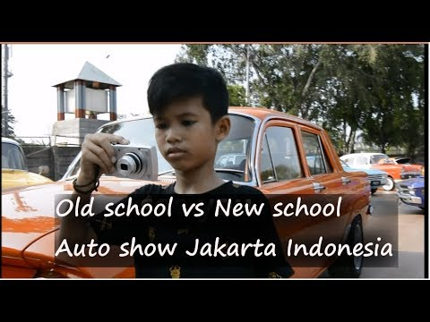 OLD SCHOOL VS NEW SCHOOL AUTO SHOW PRJ JAKARTA INDONESIA