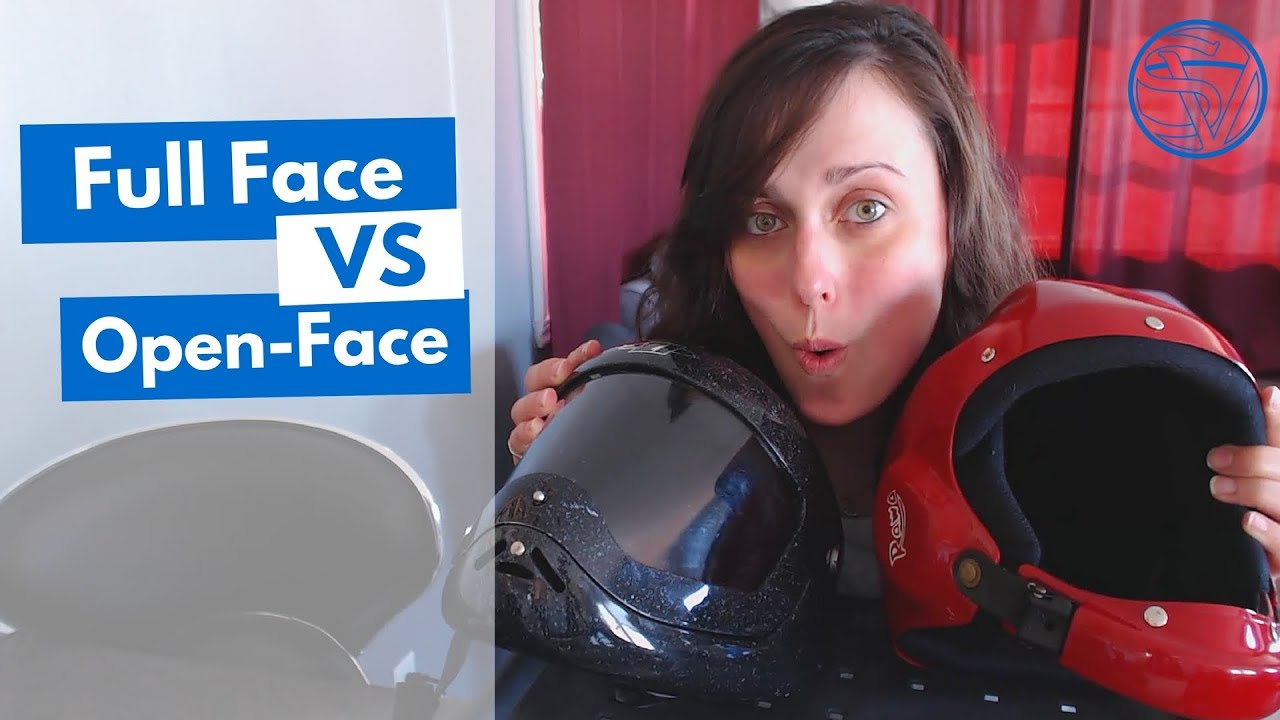 Skydiving Helmets Review Full Face Vs Open Face Pros Cons Youtube