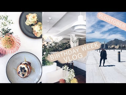 VLOGTOBER 2017   |   WEEKLY VLOG - BIRTHDAY WEEK   |   23-29 OCTOBER   |   LeChelle Taylor