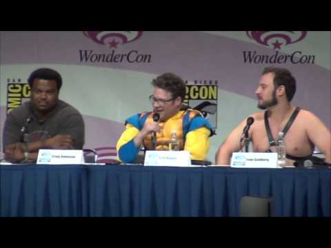 This Is The End Wondercon 2013 Panel