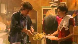 Cooking with Bernard Black and Manny