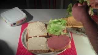 American Food How To Make A Sandwich