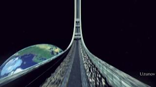 Orbital Space Colony - 3D short movie - test