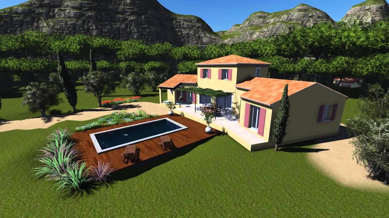 azur logement provencal construction maison proven ale. Black Bedroom Furniture Sets. Home Design Ideas