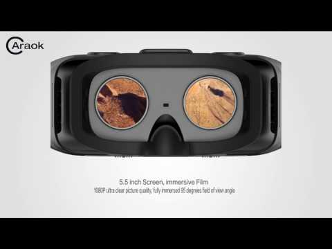 caraok V12 VR BOX all in one, game vr, video vr introduction