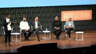 Plenary Panel: Inequality, Labor, Health, and Ethics in AI + Audience Q&A | AI Now 2016