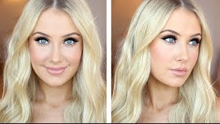 Glam Glitter & Glowing Skin Tutorial Thumbnail