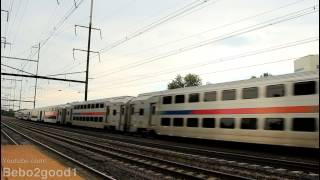 NJ Transit / Amtrak: A few trains at New Brunswick, NJ RR
