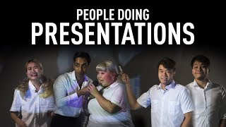 People Doing Presentations