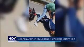 Trujillo: Detienen a supuesto asaltante en poder de una pistola