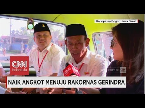 Naik Angkot Menuju Rakornas Gerindra Mp3