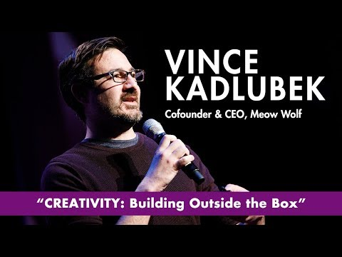 Meow Wolf Founder Vince Kadlubek with Q & A - 2018 Tom Tom ...