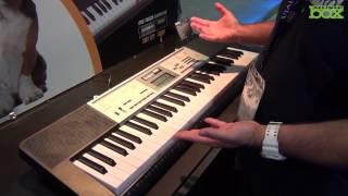 Casio: синтезатор с семплированием через микрофон CTK-2400 на Summer NAMM Show 2014