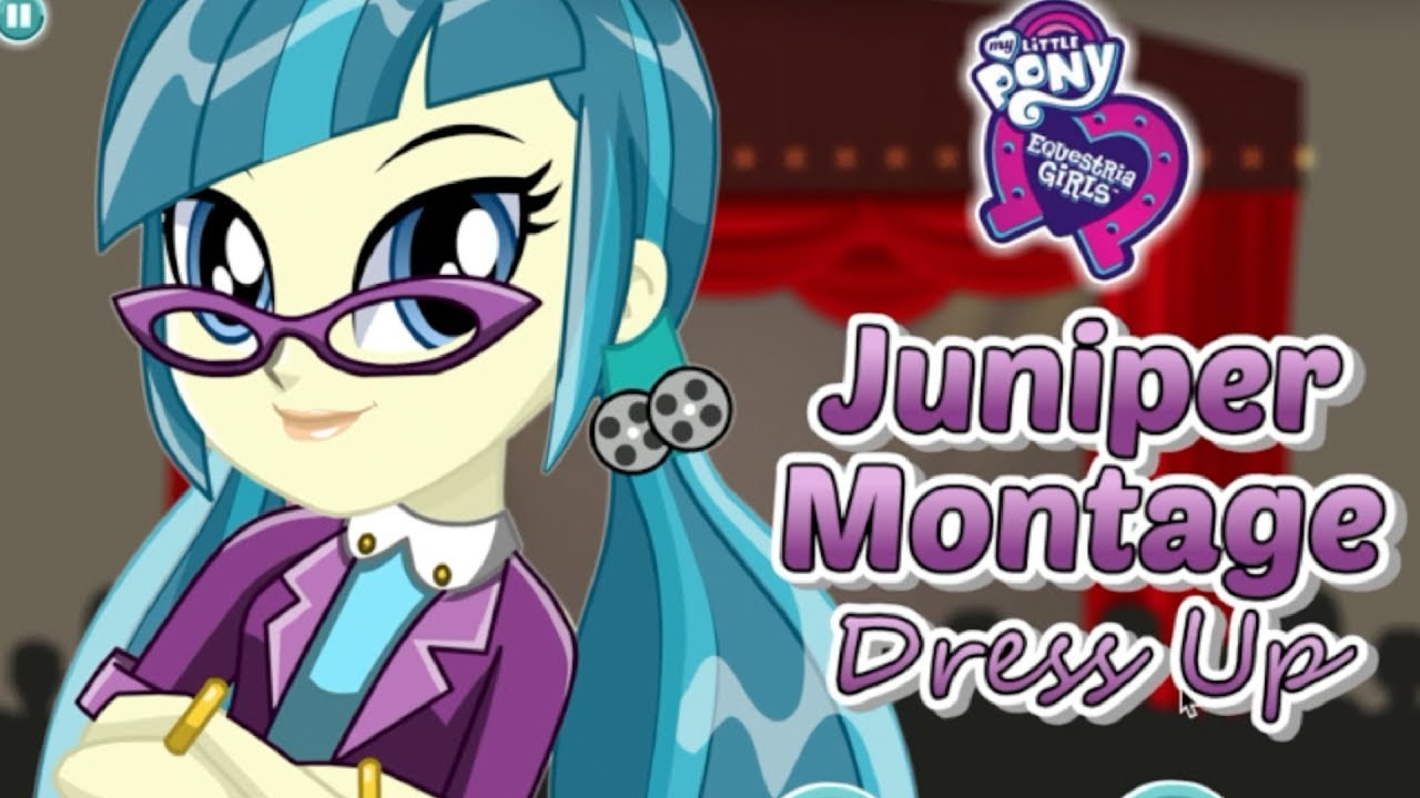 My Little Pony Equestria Girls Juniper Montage Dress Up Game for ...