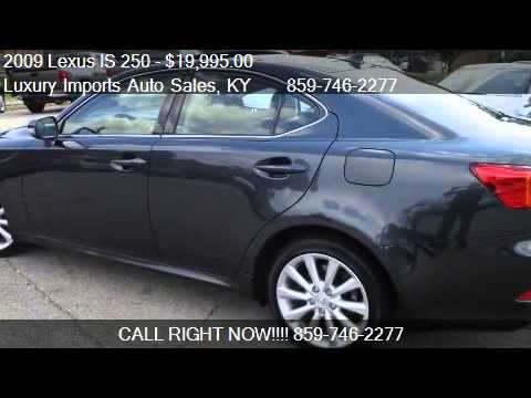 2009 lexus is 250 is 250 awd 6 speed sequential for sale i youtube. Black Bedroom Furniture Sets. Home Design Ideas