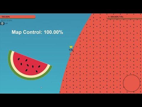 Paper.io 2 Map Control: 100.00% [Watermelon]