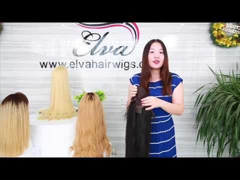 Elva Hair Yaki Straight Youtube