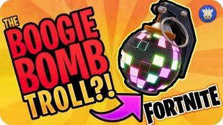 Boogie Bomb Fortnite Troll!?! | Fortnite Battle Royale (Censored Edition)