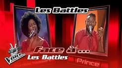 Mathilde vs Prince - Overjoyed| Les Battles | The Voice Afrique Francophone | Saison 3
