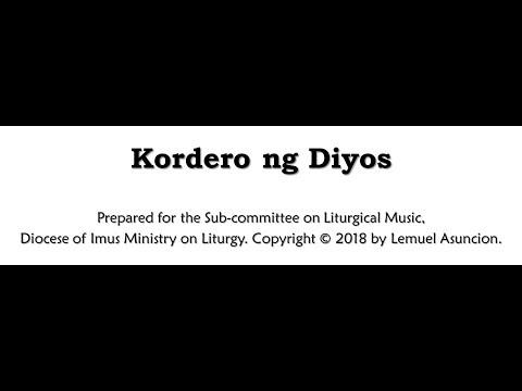 Kordero ng Diyos Instrumental by Lemuel Asuncion