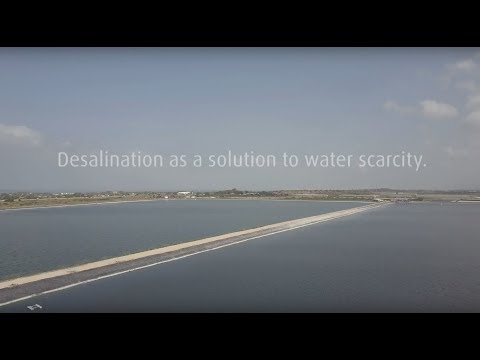 Desalination: contributing to a more sustainable world