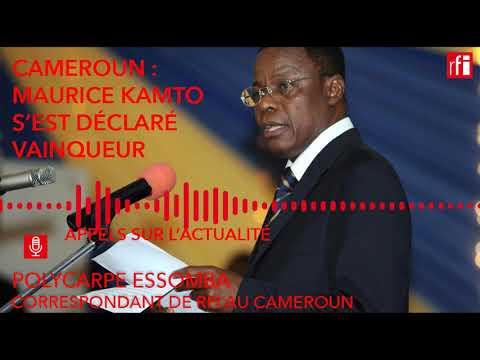 Cameroun : Maurice Kamto s'est déclaré vainqueur