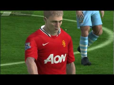 Let's Play FIFA Manager 12: Part 14 - Manchester City Vs. Manchester United [1/2]