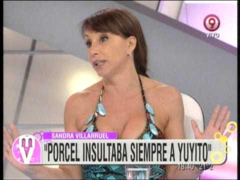 Sandra Villarruel Canosa habla sobre porcel