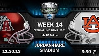 Alabama Crimson Tide vs Auburn Tigers 2013 Iron Bowl Preview: SEC College Football Picks w Joe Duffy
