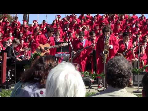 Redwood High School graduation, June 8, 2012