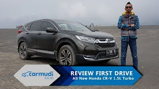 TEST DRIVE Honda CR-V Turbo 2017 Indonesia, Mesin Sedan Taklukkan Gunung Bromo