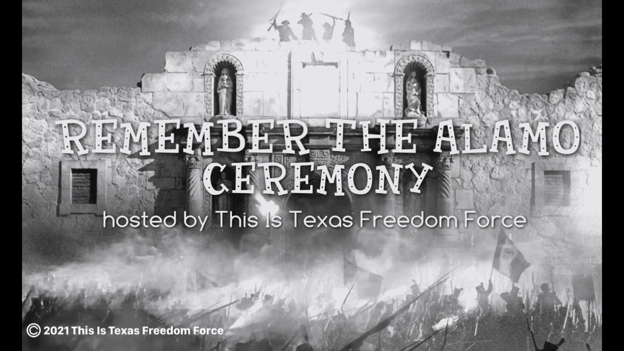 Download You are invited to the Remember The Alamo Ceremony